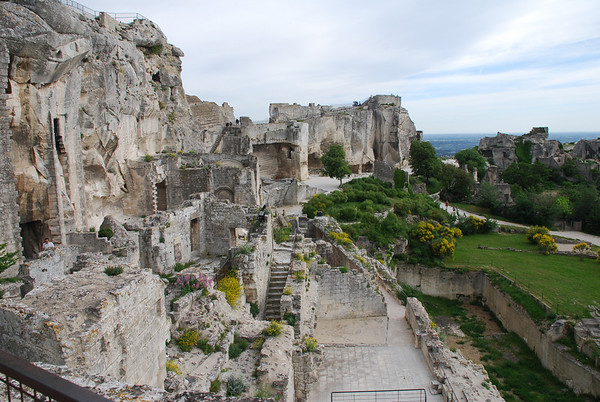 Les Baux de Provence fortress